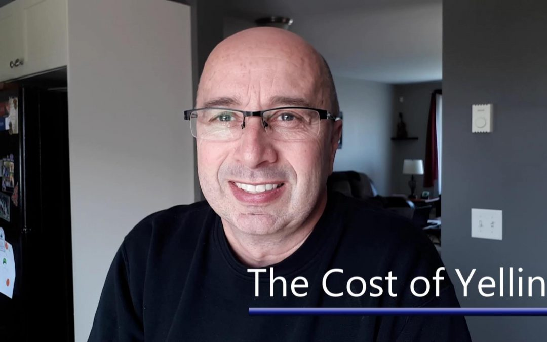The Cost of Yelling